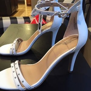 A new Day studded white heels size 7